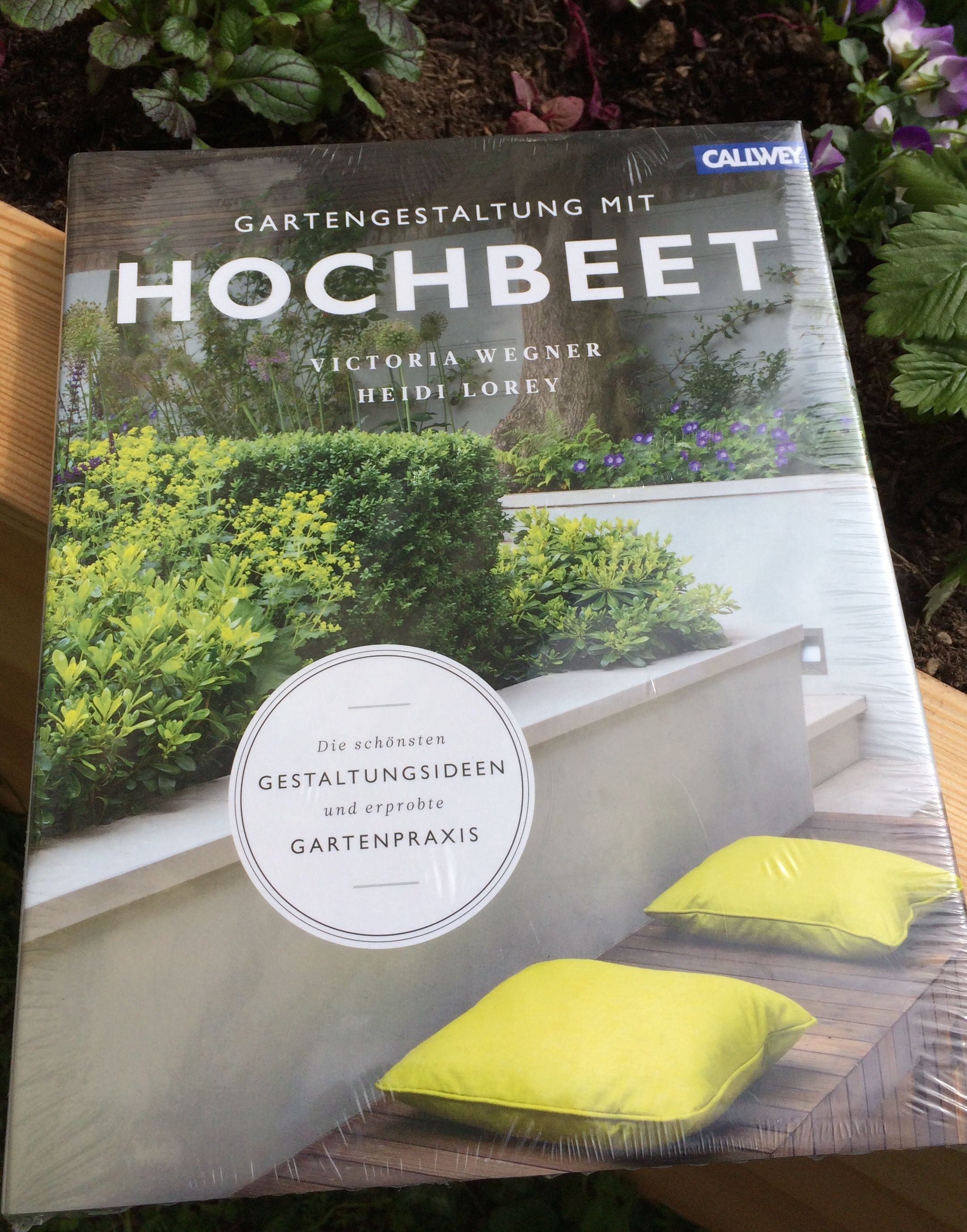 buch-tipp: gartengestaltung mit hochbeet — kayserholz, Garten ideen